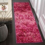 Safavieh Monaco Collection Mnc225f Modern Boho Abstract Watercolor Area Rug 2and039
