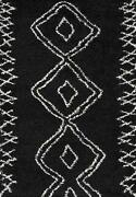 Momeni Rugs Maya Collection Ultra Thick Pile Shag Area Rug 2and039 X 3and039 Black