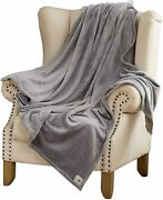 Hallmark Grey Soft Blankets And Throws Warm Plush Throw Blankets For Couch 50and039