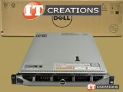 Dell Poweredge R620 10 Bay Two E5-2630lv2 2.40ghz 384gb 6 X 300gb 10k Sas H310
