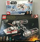 New Lego Star Wars 75249 Resistance Y-wing Starfighter New Sealed Free Shipping