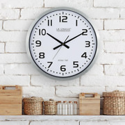 20 Inch Large Analog Wall Clock Automatic Time W/ Manual Setting