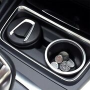 Car Ashtray Led Light Cigar Ash Tray Container Ash Cup Holder Tool Black