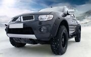Power Extended Wheel Arch Fender Flares Mitsubishi L200 Triton Overhang 70 Mm