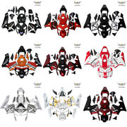 Ms Fast Shipping Fairing Kit Fit For Honda 2003 2004 Cbr600rr Red Black A0