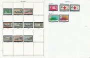 Ascension Stamp Collection On 20 Scott International Pages, 1922-86, Jfz