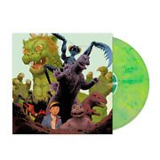 Godzilla All Monsters Attack 1969 Soundtrack Exclusive Lime Green Swirl Vinyl Lp