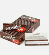 10 Boxes Of 24 Packs Ez-wider 1 1/4 Cigarette Rolling Papers