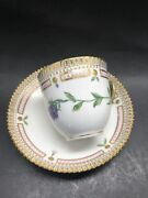 Royal Copenhagen Flora Danica Coffee Cup And Saucer No 20/3597 Minty