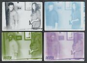 Dexter Season 7 And 8 Breygent Printing Plate Set Base Card 51 All 4 Colors