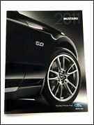 2011 Ford Mustang Gt 36-page Car Sales Brochure Catalog Convertible Gt500 Shelby