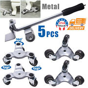 Furniture Lifter Easy To Move Slider 5 Piece Mobile Tool Set Moving And Lifting
