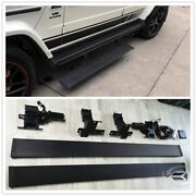 Electric Running Board Auto Side Step Side Skirt For Benz G W463 G63 G65 G500
