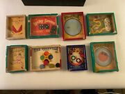 Vtg 1940s-50's Lot 8 R J Journet And Co Series Of Popular Puzzle Dexterity Games