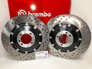 Bmw 800 R 80 1981 1982 1983 1984 Brembo Pair Brake Discs Floating Front