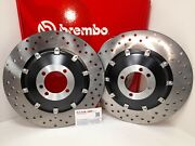 Bmw R 100 Pd 1000 1991 1992 1993 Brembo Pair Brake Discs Floating Front