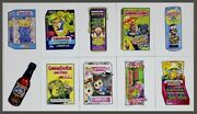 Topps Garbage Pail Kids 35th Anniversary 2020 S2 Wacky Packages 10 Card Set Nm/m