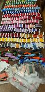 Dmc Embroidery Floss Thread Various Colors On Cards Etc 215 Items Vintage Lot