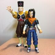 Dbz - Irwin Toys - Android 17 And Android 20 / Dr. Gero - Action Figure Lot Of 2andnbsp