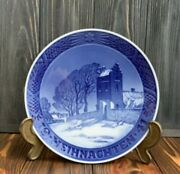Royal Copenhagen 1941 Christmas Plate Porcelain Denmark Annual Collectible China