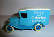 Toy Truck Metal Klm Airlines Logo Catering And Party Service 1990s Liedo Model