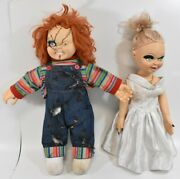 Chucky And Bride Doll Action Figure 11 Scale Lifesize 24