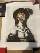 Martin Whatson Feather 2017 Hand Finished Art Poster Print Banksy Invader