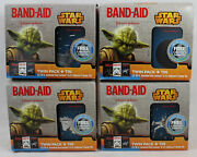 Star Wars Band-aid Limited Edition Collector's Series Tin - Complete Set Of 4