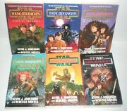 Star Wars Young Jedi Knights 1-6 Signed Paperback Books 1995- 96 Anderson Moesta