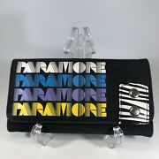 Very Rare 2000andrsquos Paramore Clutch Wallet W/ Zebra Stripe Accents