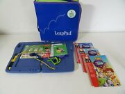Leappad Plus - Writing - Learning System - Computer - 4 Books - 3 Cartridges