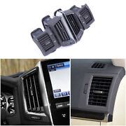 For Toyota Land Cruiser 2016-2021 Black Middle Air Outlet Vent Cover Trim 4pcs