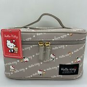 Sanrio Hello Kitty Vanity Pouch Multi Accessory Case Makeup Cosmetic Bag Gift