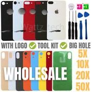 Wholesale Lot Iphone 11pro Xr Xs Max 8 Plus Rear Back Glass Replacement Big Hole