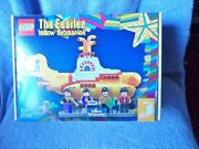 The Beatles Lego Yellow Submarine Model And Figures New Boxed Unopened Awesome