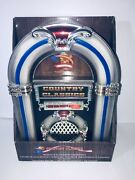 New Tabletop Jukebox Country Hits Tunes Lights Up Flashes