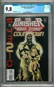Punisher War Zone 41 1995 Cgc 9.8 White Pages Dixon - Whigham Last Issue