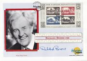 2005 The Castle Definitives Miniature Sheet Signed By Richard Briers Actor Fdc
