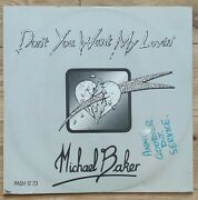 Michael Baker - Donand039t You Want My Lovinand039 - 12 Vinyl Record - 1984 - Passion