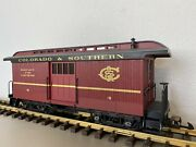 Piko 38647 Colorado And Southern Cands Baggage Car 4 G-scale