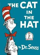 Beginner Booksr Ser. The Cat In The Hat By Seuss 1957 Hardcover Large Type