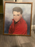 Elvis Presley Print Signed To Producer Of His Legendary Andrsquo68 Comeback Special