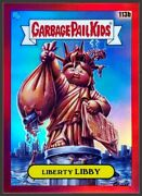 2020 Garbage Pail Kids Chrome 3 Os3 Liberty Libby 113b Red Refractor /5 Ssp Rare