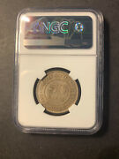 Straits Settlements Silver 50 Cents 1902 About Uncirculated Ngc Au55