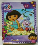Dora The Explorer 24-piece Jigsaw Puzzle Game Toy Kids Educational Gift New 😍