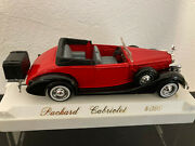 1/43 Solido Packard Cabriolet Land039age Dand039or Rouge 4099 Tbe Portes Ouvrantes