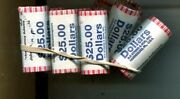 2007 - 2011 D President Dollar 25 Bank Roll Lot Of 20 Different