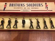 Britains Pre1970 Lead Toy Soldiers Australian Army Andnbspinfantry No. 2030 Rare