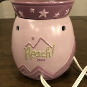 Scentsy Reach For The Stars Warmer Limited Edition 2008 Consultants Only Rare