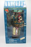 Disney Unlimited Mr. Christmas A Mickey Holiday Airship Tree Topper Table Piece